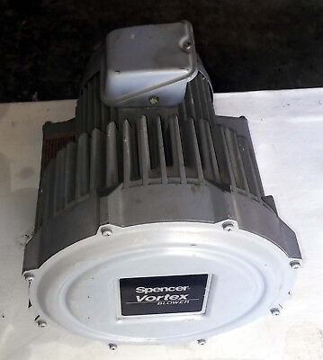 1 Used Spencer Vb-007G-U Vortex Regenerative Blower ***Make Offer***