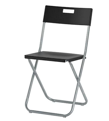 Ikea Folding Chairs - Black - only £4 each!!