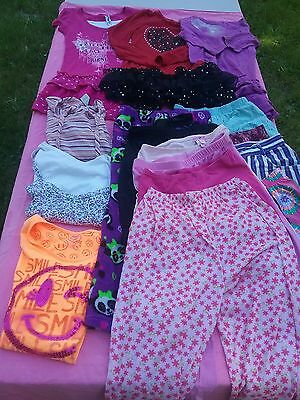 Junior girl school clothes lot dresses leggings blouse shirts shorts skirts 7 8