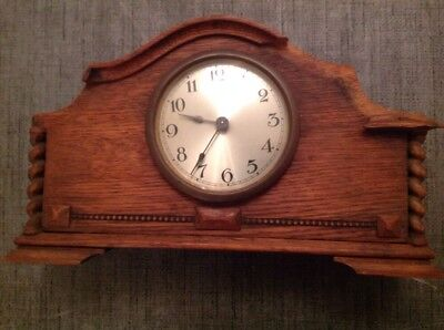 Antique Clock Case And Movement for restoration 27x16x8cm