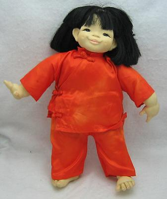 """13"""" Vintage Mieler Chinese Passport Doll"""