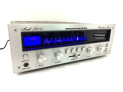 MARANTZ Stereophonic Receiver 2010 Rare Vintage 20Watts RMS Refurbished Like New
