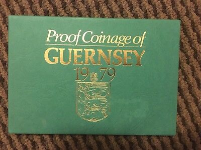 Guernsey 1979 Proof Set Rare And Nice