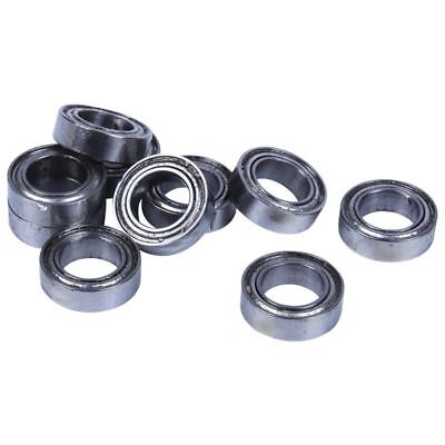 10pcs Miniature Sealed Metric Radial Ball Bearing Model: MR106-ZZ 6x10x3Mm W9F7