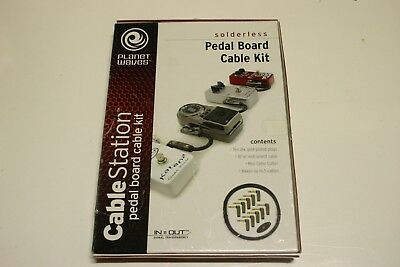PLANET WAVES Cable Station Pedal Board Cable Kit Solderless GPKIT- FREE SHIP!