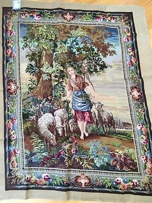 Tapestry Hand Embroidery Hanging 96Cm By 127Cm New