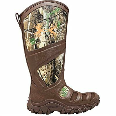 Under Armour SPINEX RUBBER BOOTS Mens HUNTING OUTDOOR BOOTS 10 CAMO BROWN $169