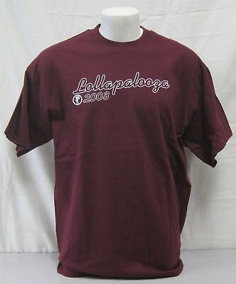 Lollapalooza Concert Shirt 2003 Tour Audioslave Perfect Circle Incubus Donnas XL