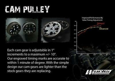 Works Engineering Cam Gear Pulley For Toyota Celica MR2 Caldina 3S-GTE