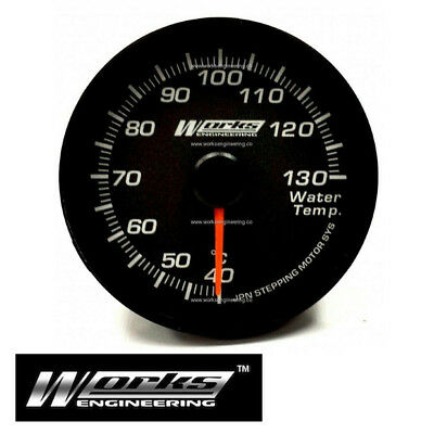 New 60mm 270° Water Temperature Temp Electrical Pro Gauge Meter Race Drift