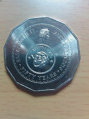2016 50c Fifty Cent Coin 50th Anniversary of Decimal Currency UNC from the mint