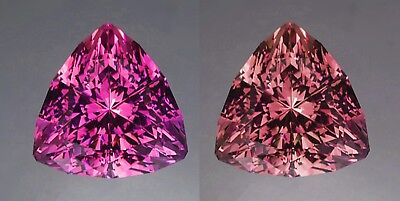 Umbalite Garnets (2) - Colour Change / Shift - 1.00 Carat Total - Matched Pair