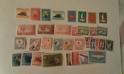 indonesia stamps 1960