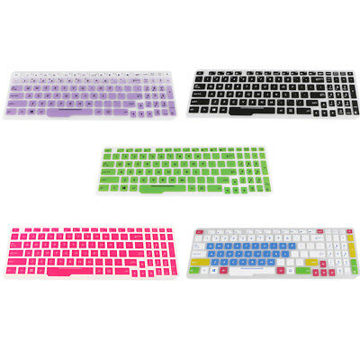 Silicone Keyboard Cover Skin for ASUS FX53VD Laptop Notebook Protector Gel
