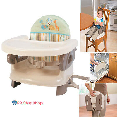 Portable High Chair For Travel Baby Booster Seat Foldable Infant Toddler Feeding