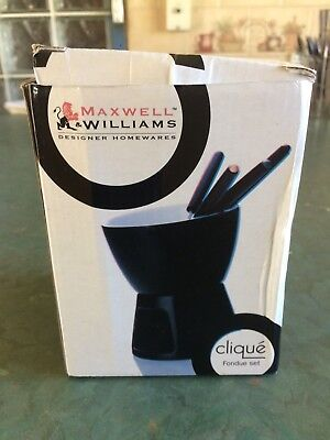 Maxwell & Williams Clique Fondue Set