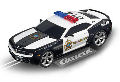 Carrera 27523 - Evolution CHEVROLET CAMARO SHERIFF Auto NEU