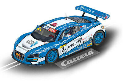 "Carrera 23840 - Digital 124 AUDI R8 LMS ""FITZGERALD RACING, NO.2A"" Auto NEU"