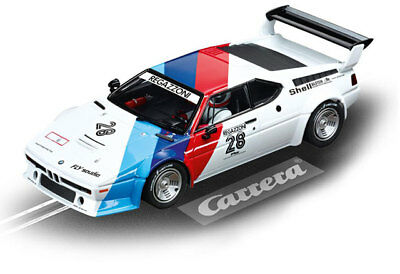 "Carrera 23820 - Digital 124 BMW M1 Procar ""Regazzoni No.28"", 1979 Auto NEU & OVP"
