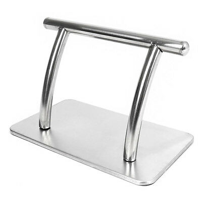 Wido HEAVY DUTY STAINLESS STEEL BARBERS FOOTREST FOR HAIR AND BEAUTY SALON