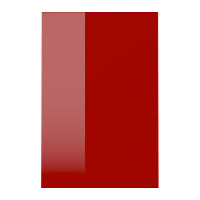 Ikea Ringhult High Gloss Red kitchen unit end cover panel 62 x 80cm 702.559.22