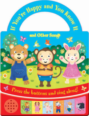 New, If You're Happy & you know it,Multi-Sound Book,Kids/Children's Age 6 month+