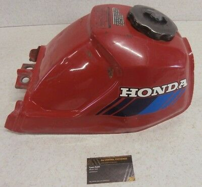 85 Honda ATC110 ATC 110 Vintage Genuine Fuel Gas Tank CLEAN + Cap Red OEM GOOD