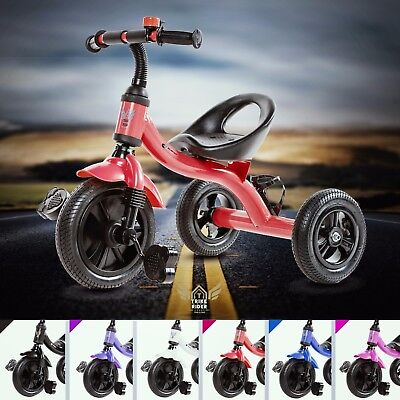 3 Wheeler Smart Design TrikeRider Kids Children Trike Tricycle Pedal RideOn Bike