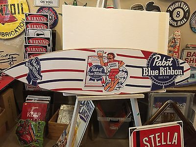 Pabst Cool Blue Surfboard