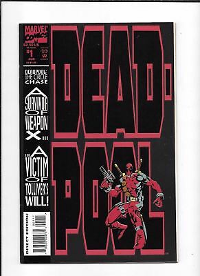 Deadpool: The Circle Chase #1 ==> Nm- Limited Series 1993