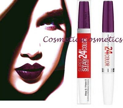 Maybelline SuperStay 24H Dual Ended Lipstick 363 All Day Plum