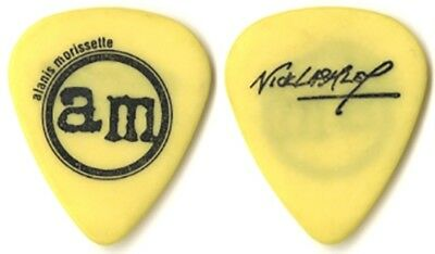 Alanis Morissette Nick Lashley authentic 1996 tour signature band Guitar Pick