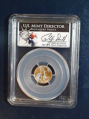 2013 GOLD Five Dollar PCG MS70 American Eagle $5 Coin Auction Start At 99 Cents!