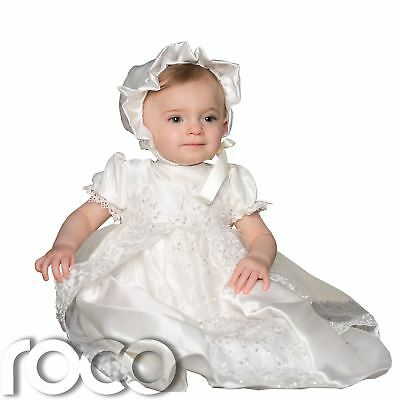 Ivory Christening Dress, Christening Outfit, Baby Girls Dresses, Ivory Dress