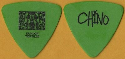 Deftones Chino Moreno authentic band issued 2004 tour custom stage Guitar Pick