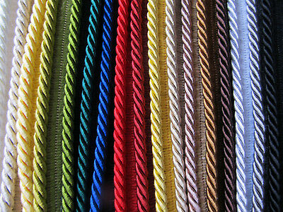 5mm SILKY FLANGED FURNISHING CORD High Quality Piping for Cushions & Upholstery
