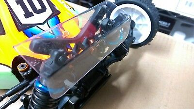 Front Shock Tower Protector 1/10th Off Road Buggy Yokomo Yz2/Yz4 Xray Kyosho