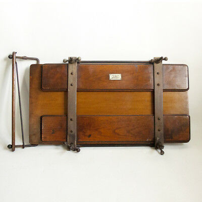 Antique 1910s/20s THE LEADER Wood Trouser Press Stretcher Sheffield FREE UK P&P