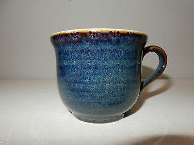 A BHS Brecon Teacup Dark Blue Excellent