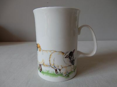 Lovely Vintage Dunoon Mug Woolly Jumpers Sheep by Cherry Denman VGC