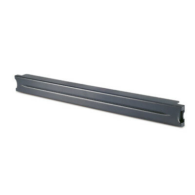 "1U 19"" Black Modular Toolless Blanking Panel - Qty 10"
