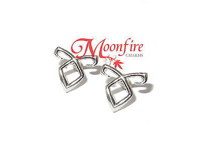 The Mortal Instruments Angelic Power Rune Earrings Shadowhunters Silver-Plated
