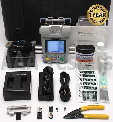 FiTeL S122C Clad Alignment SM MM SOC Fiber Fusion Splicer w/ Cleaver S122 S122A