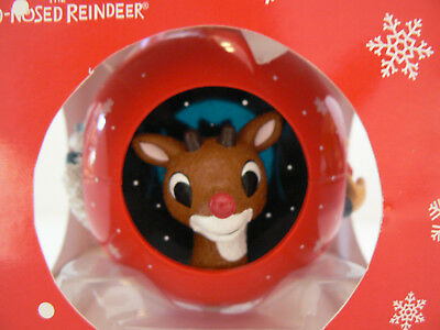 Enesco Rudolf Bumble Yukon Cornelius Ball Ornament IOB
