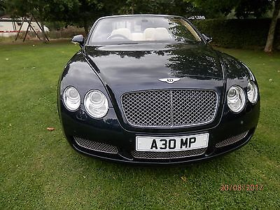 Bentley GTC 2006 6.0 ltr 47500 miles blue & cream with remaining warrentee