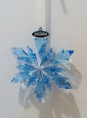 "Swarovski /disney 2017 Christmas Snowflake Ornament "" Frozen ""    , #5286457"