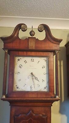30 hour longcase clock hardy nottingham working and striking