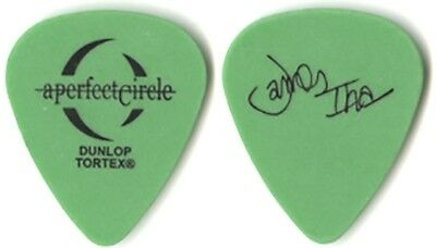 A Perfect Circle James Iha 2004 signature green Guitar Pick Smashing Pumpkins