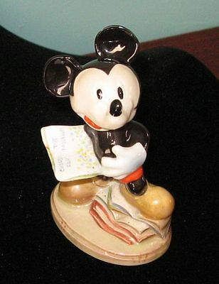 Beswick Mickey Mouse Rarest Walt Disney Gold Backstamp Figurine