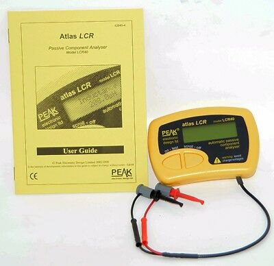 Peak Atlas Atlas LCR - Passive Component Analyser (Model LCR40)